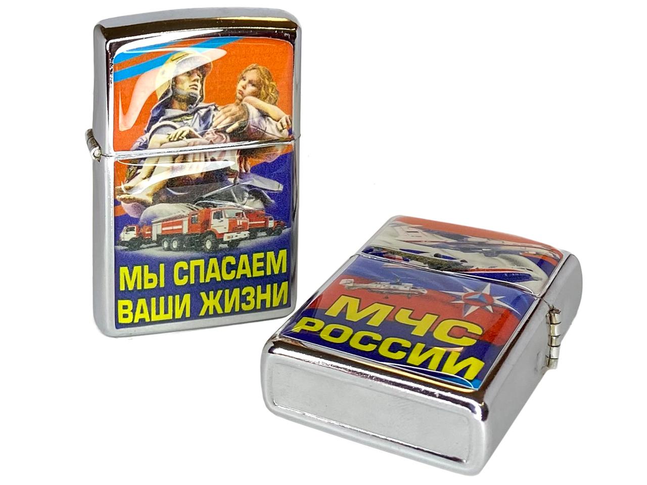 """Купить зажигалку """"Спасатель МЧС"""""""