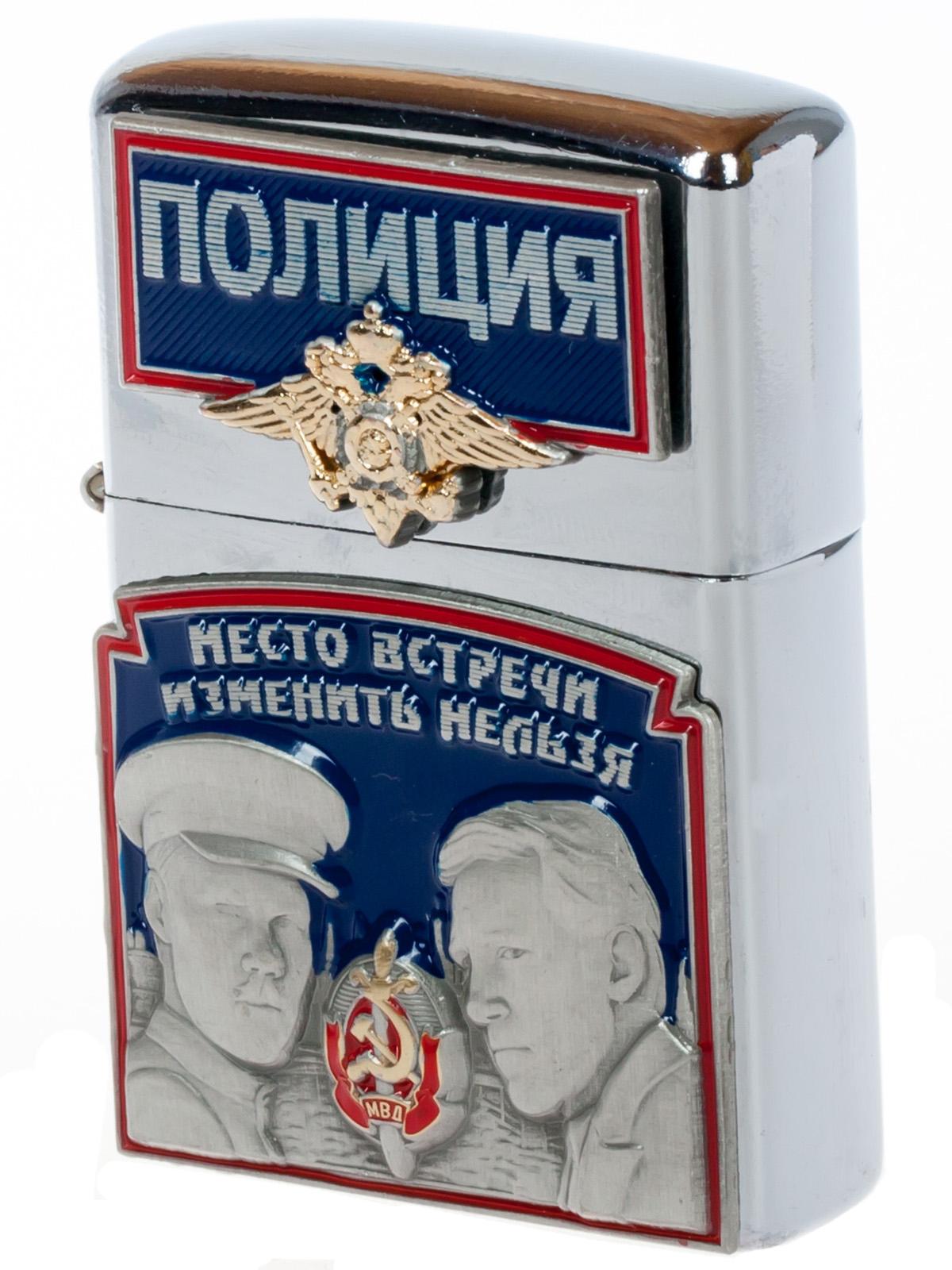 Бензиновая зажигалка в подарок полицейскому