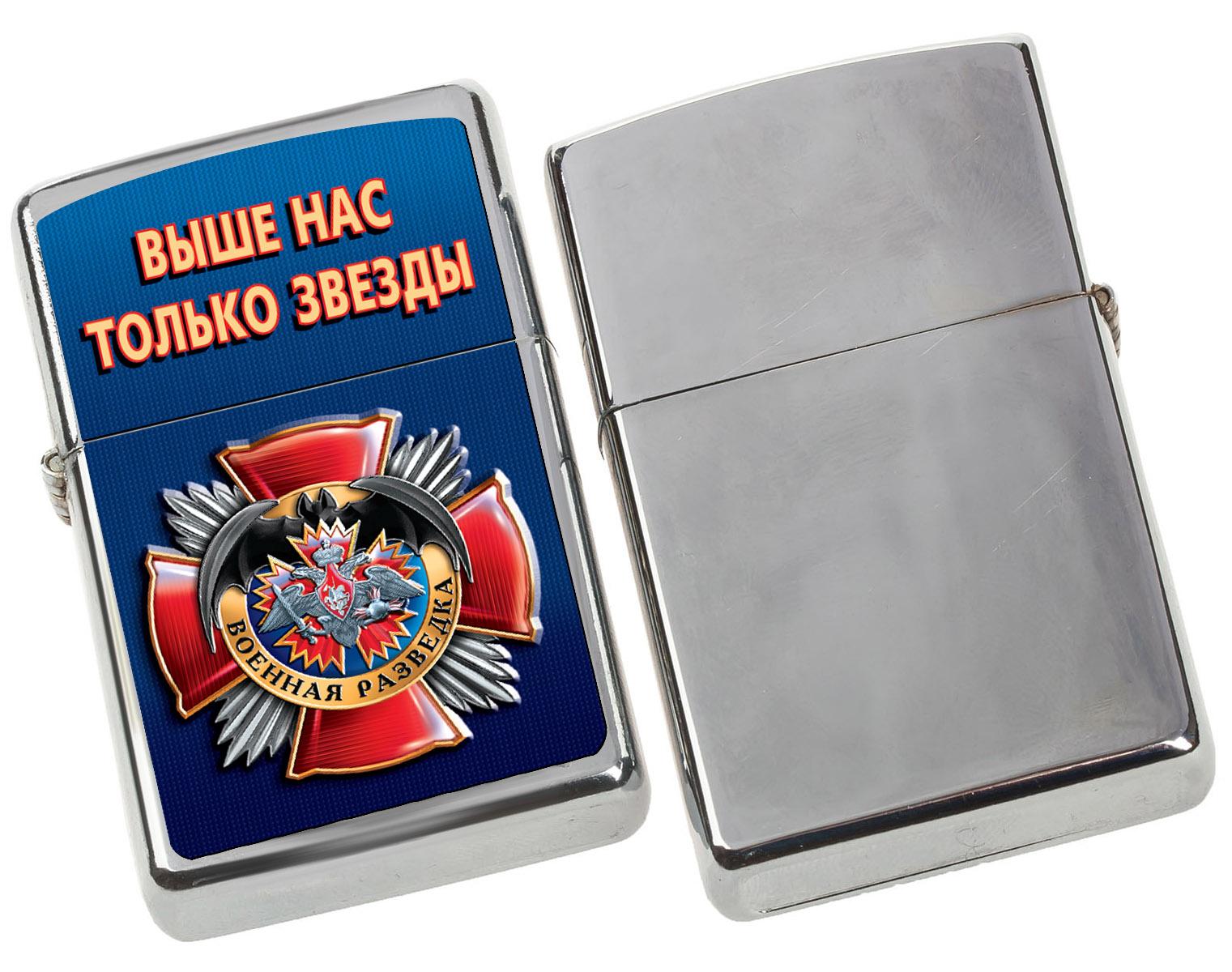 """Зажигалка в подарок """"Военная разведка"""" по доступной цене"""