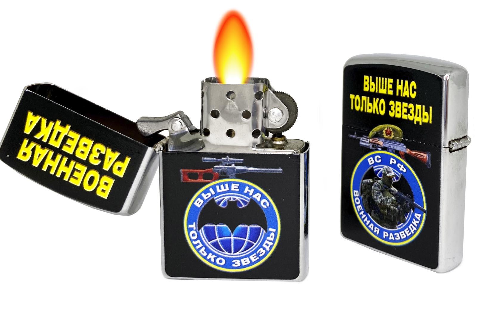 Бензиновая зажигалка военного разведчика за 399 рублей