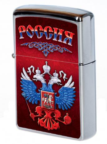 """Зажигалка Zippo """"Россия"""""""