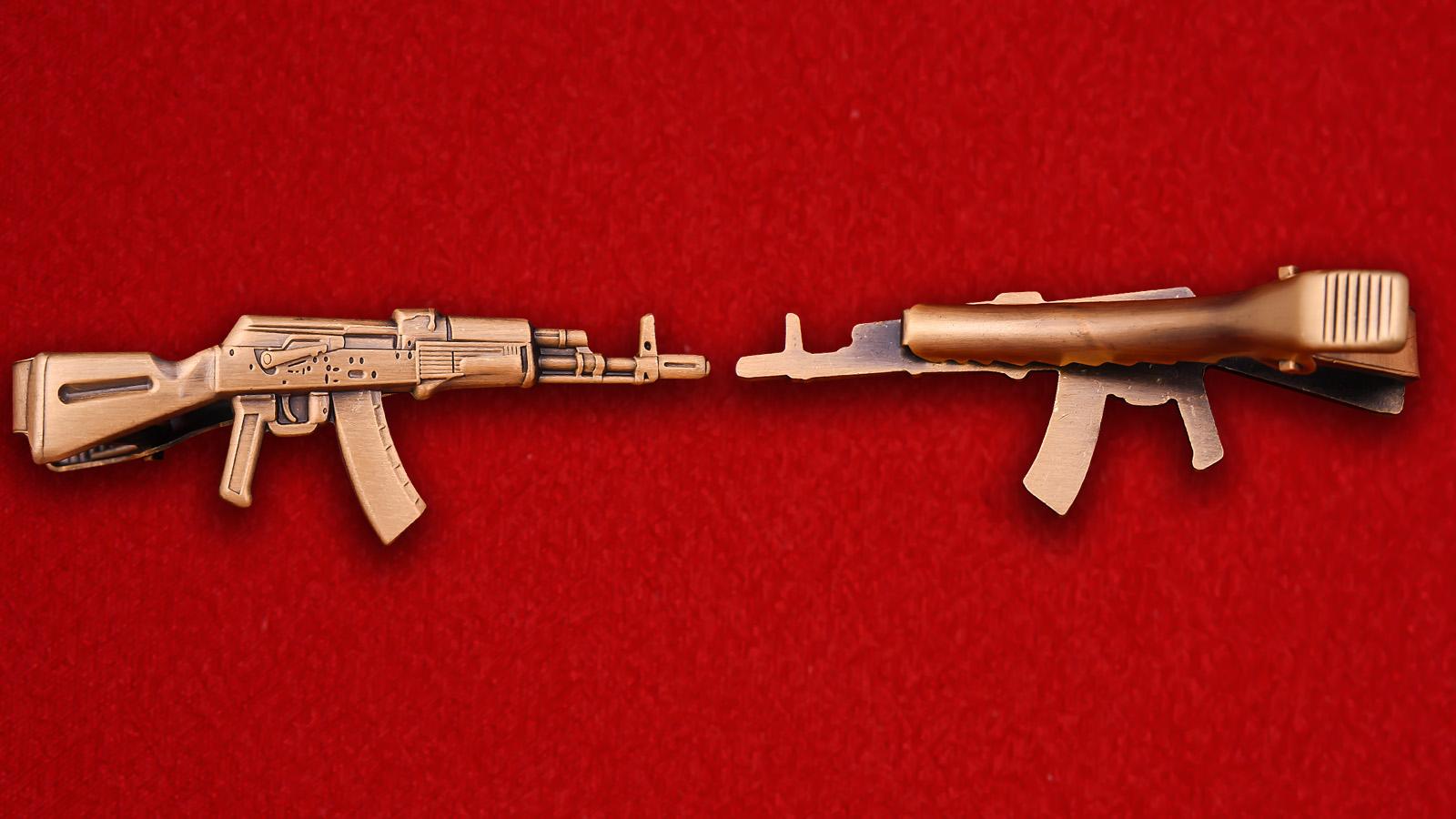 """Зажим для галстука """"АК-47"""""""