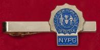 """Зажим для галстука """"Детектив полиции Нью-Йорка"""""""