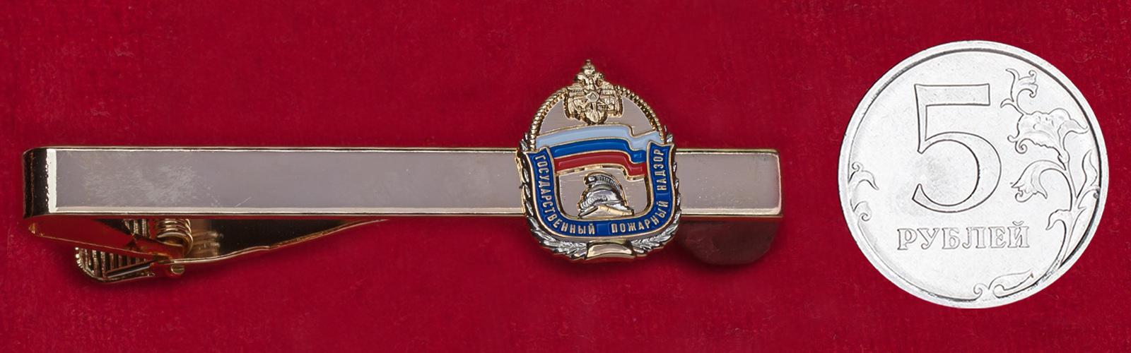 """Зажим для галстука """"Государственный пожарный надзор"""