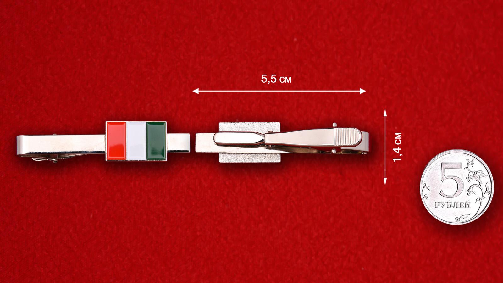 """Зажим для галстука """"Италия"""""""