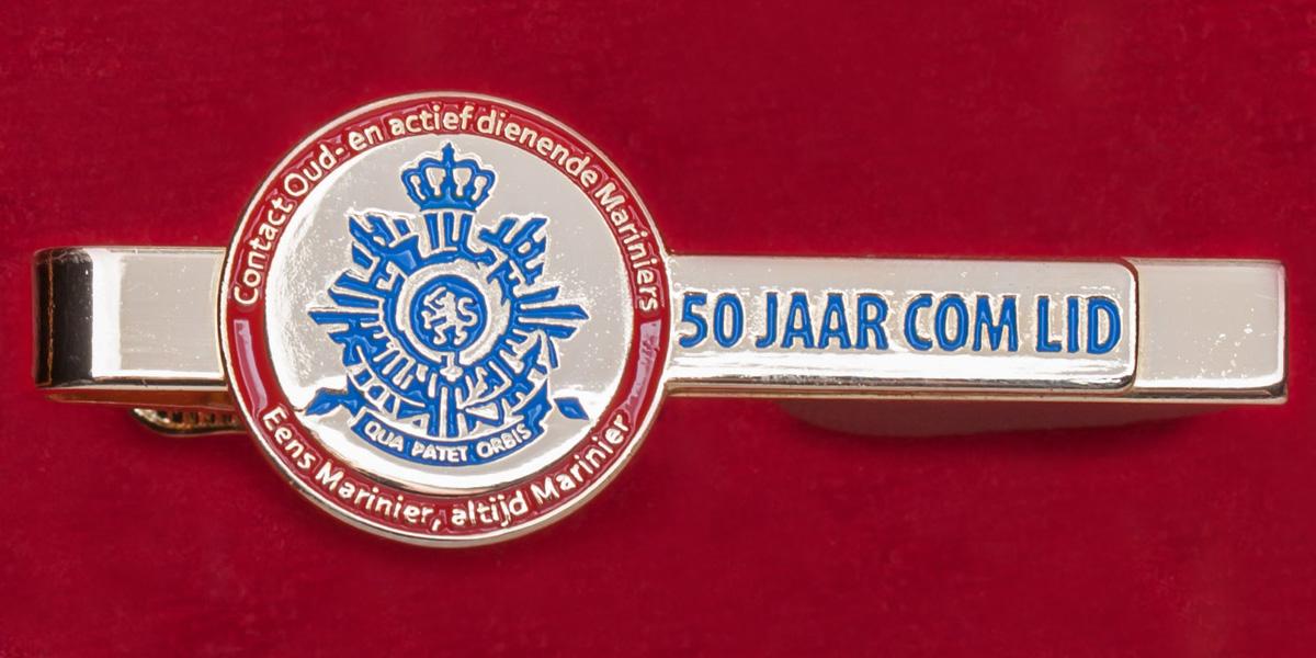 """Зажим для галстука """"Королевский корпус морской пехоты Нидерландов"""""""