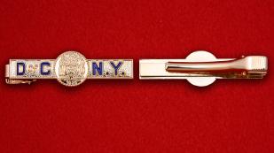 """Зажим для галстука """"Печать Нью-Йорка"""""""