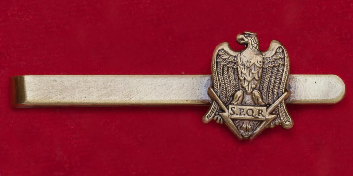 Зажим для галстука с гербом легионов Римской империи