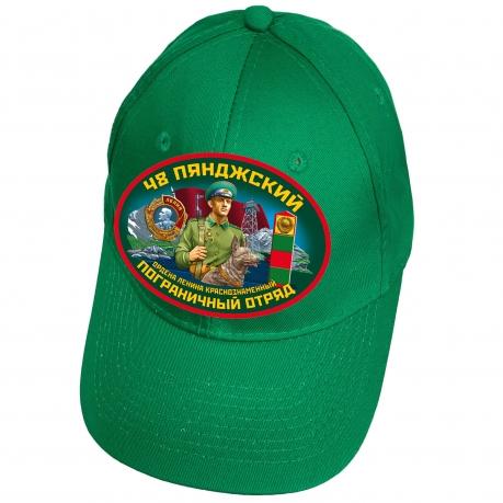 Зелёная бейсболка 48 Пянджский пограничный отряд
