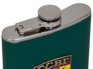 Зеленая фляжка с металлической накладкой ГСВГ с доставкой