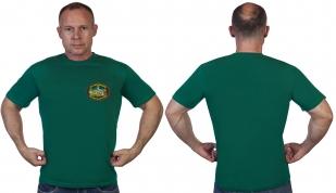 Зелёная футболка 134 Курчумский пограничный отряд
