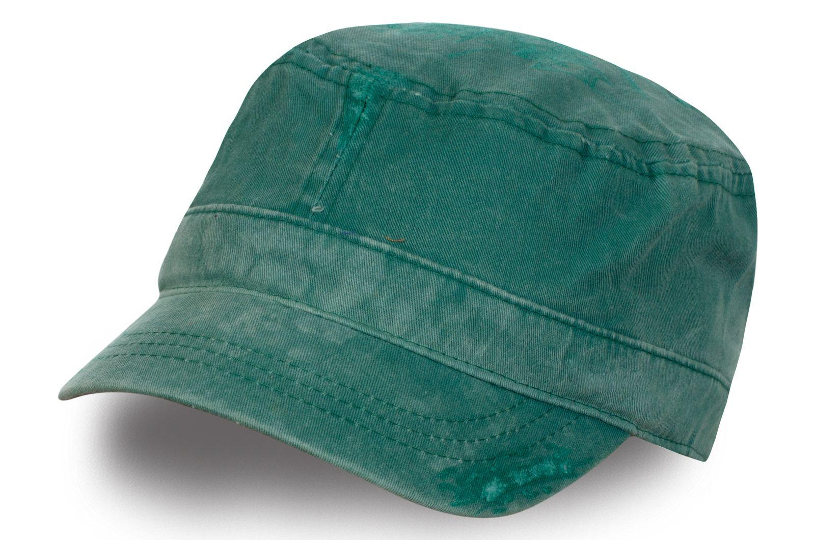Зелёная кепка-немка | Купить кепки и бейсболки по низкой цене