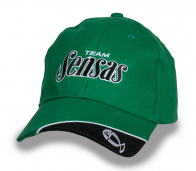 Зеленая кепка TEAM SENSAS