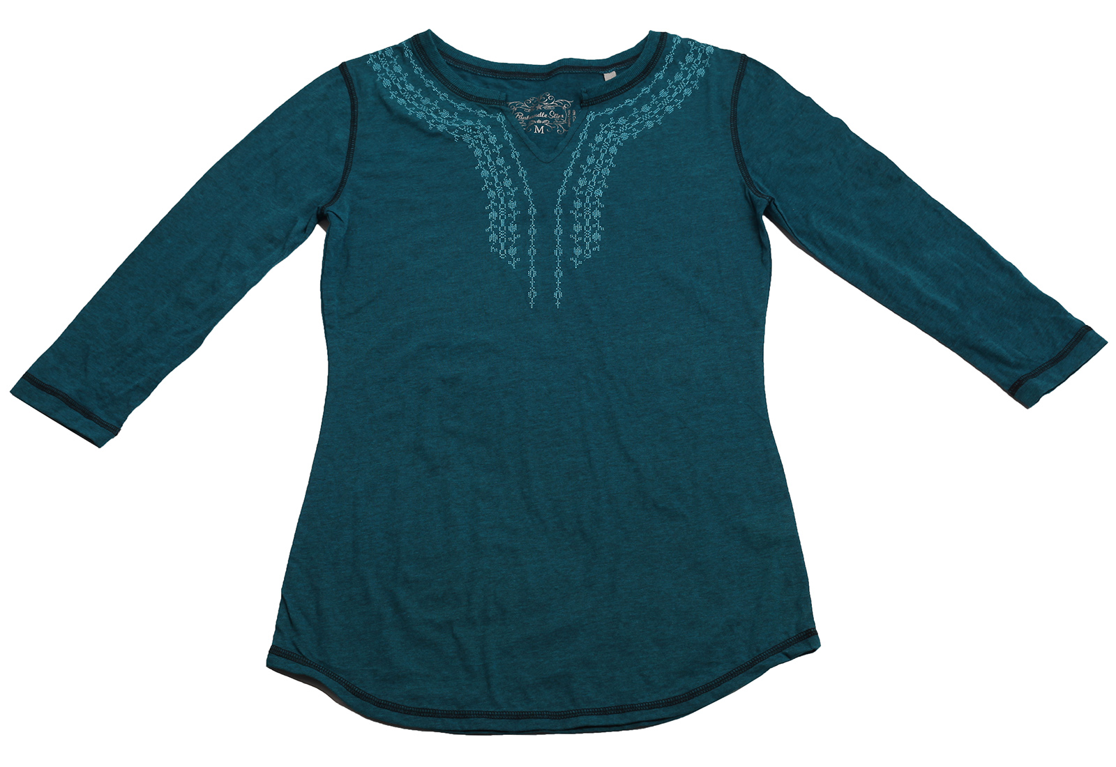 Зеленая кофточка Panhandle Slim - необычный дизайн, модная вышивка