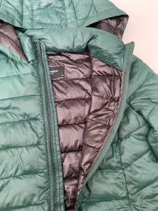 Зеленая женская куртка от LC WAIKIKI