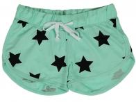 Зеленые шорты Coco Limon со звездами