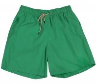 Зеленые шорты для пляжного отдыха и спорта. Удобная модель