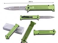 Зеленый складной нож Tac Force Joker Why So Serious (США)