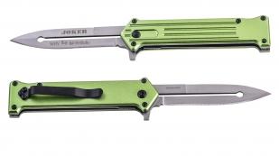 Зеленый складной нож Tac Force Joker Why So Serious (США) по лучшей цене