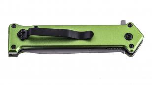 Зеленый складной нож Tac Force Joker Why So Serious (США) отменного качества