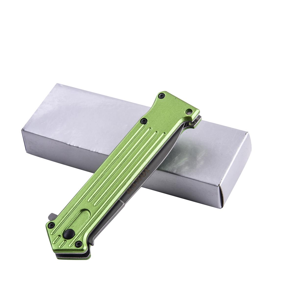 Зеленый складной нож Tac Force Joker Why So Serious (США) с доставкой