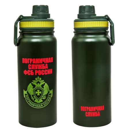 Зеленый термос ПС ФСБ