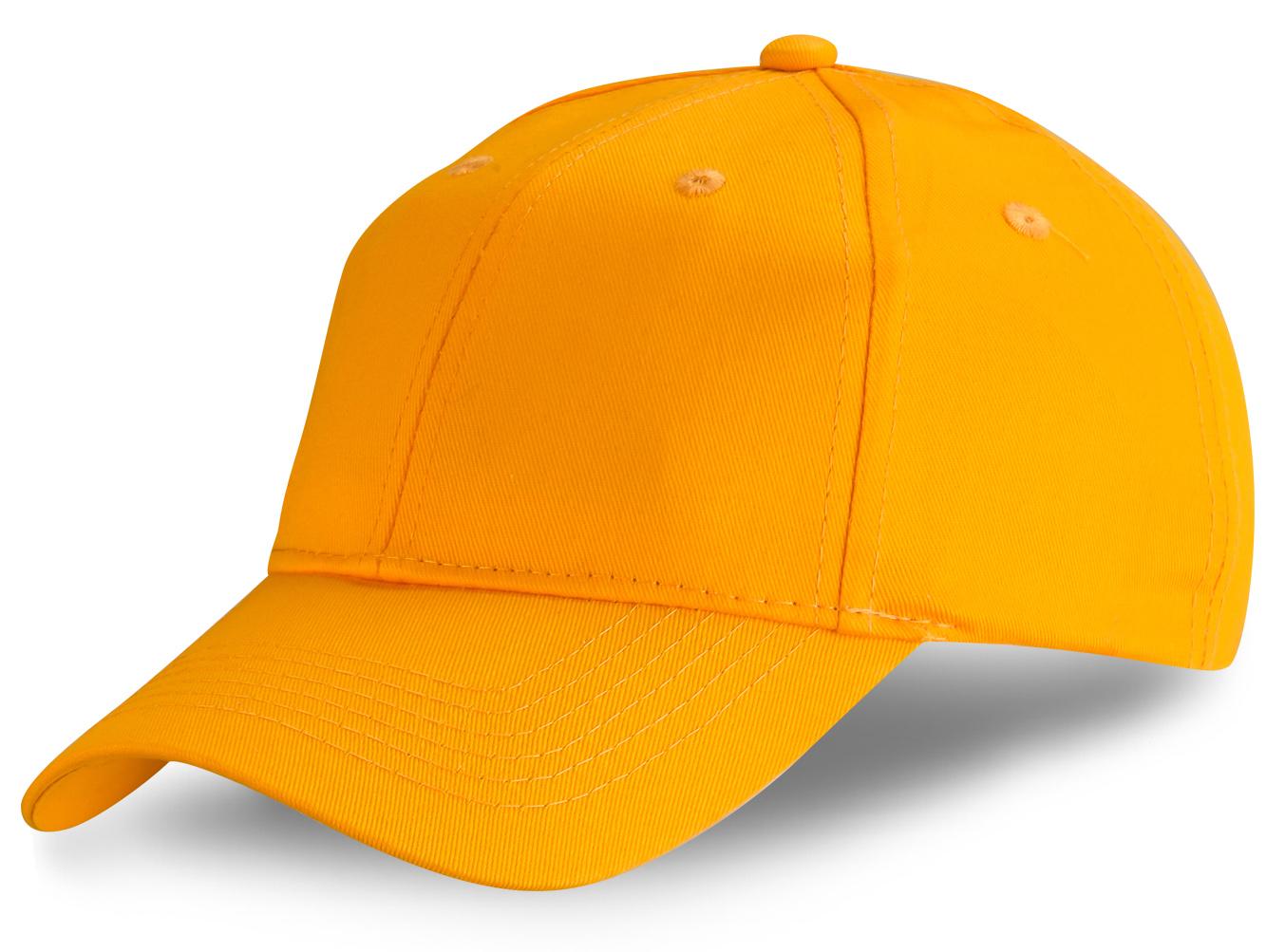 Желтая бейсболка - купить в интернет-магазине