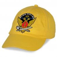 Желтая бейсболка ФСИН с регулятором размера.