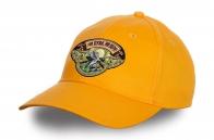 Желтая бейсболка «Ни пуха, ни пера!»