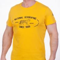 Желтая футболка  мужская (National Geographic Society, США)