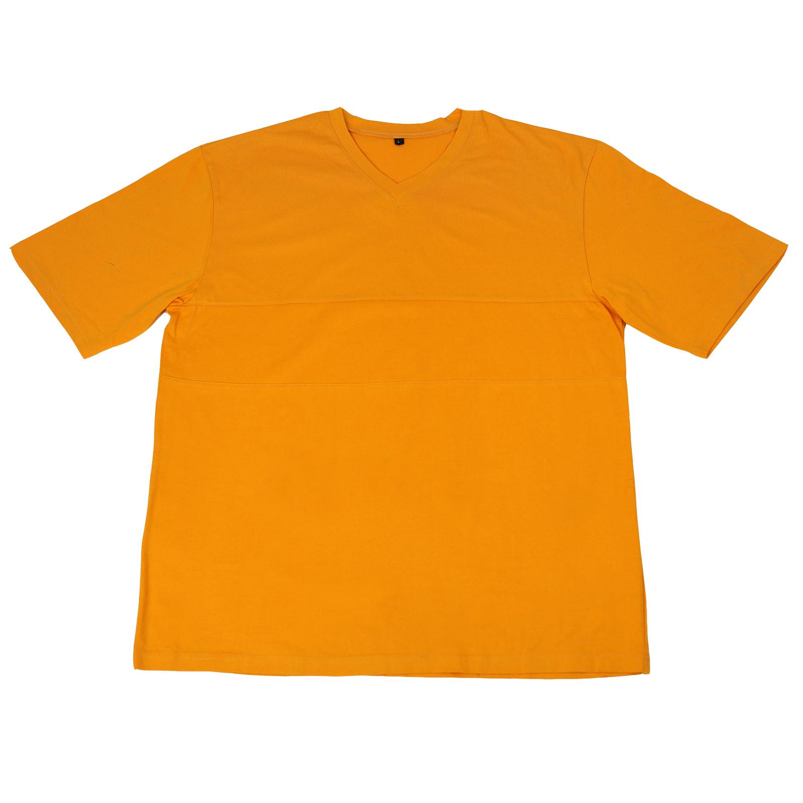 Желтая футболка для спорта и отдыха