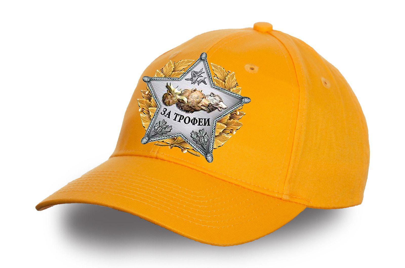 Желтая кепка со звездой охотника - купить по низкой цене