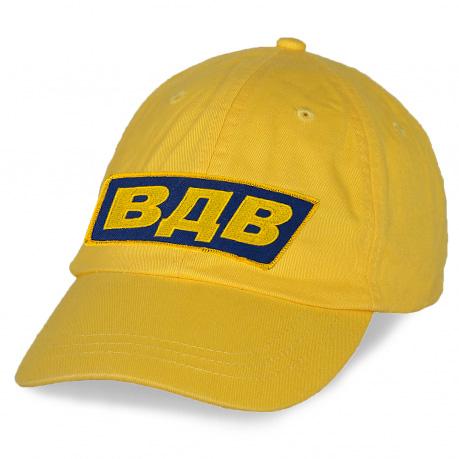 Желтая кепка ВДВ.
