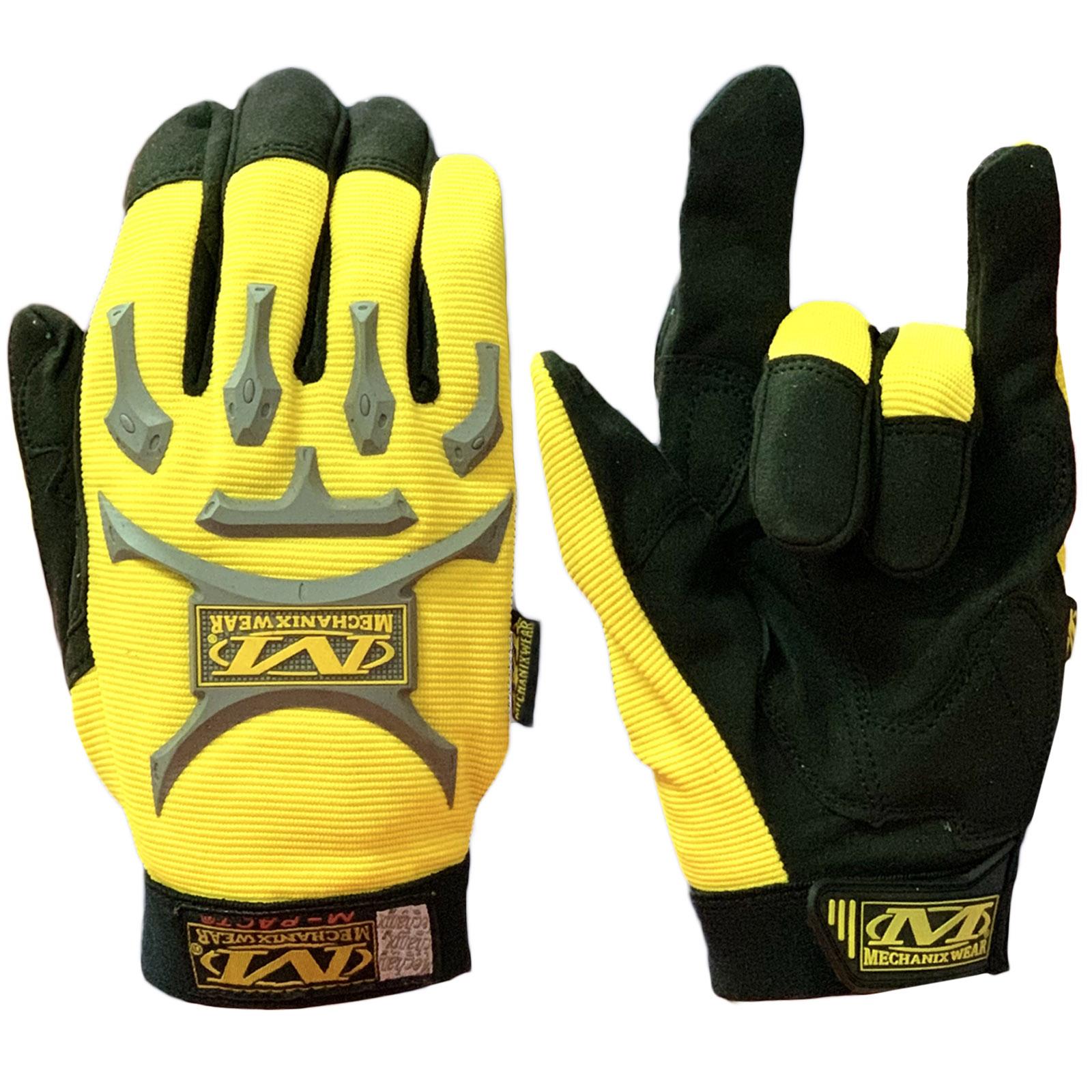 Крутые контрастные перчатки от Mechanix wear для экстремалов