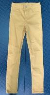 Желтые женские джинсы от DENIM
