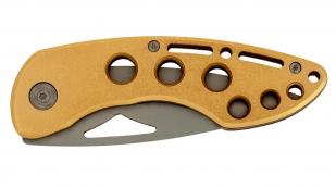 Желтый складной нож Spring Assisted Opening Folder
