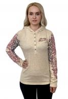 Женская футболка Harley-Davidson с длинным рукавом