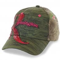 Женская бейсболка Remington – гламурный камуфляж, пайетки, изящный принт. Новая модная эра – никаких правил!