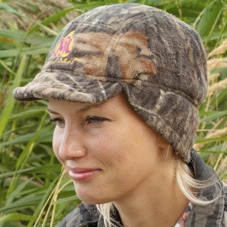 Осенне-зимняя женская шапка Zong Mei с ушками и козырьком