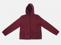 Женская куртка бордового цвета от Iwie (Италия)