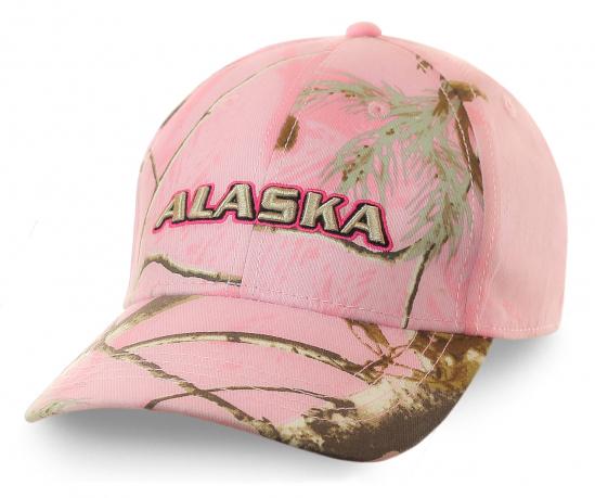 Женская бейсболка Alaska - уникальная дизайнерская разработка. Безупречный пошив, приятная цена