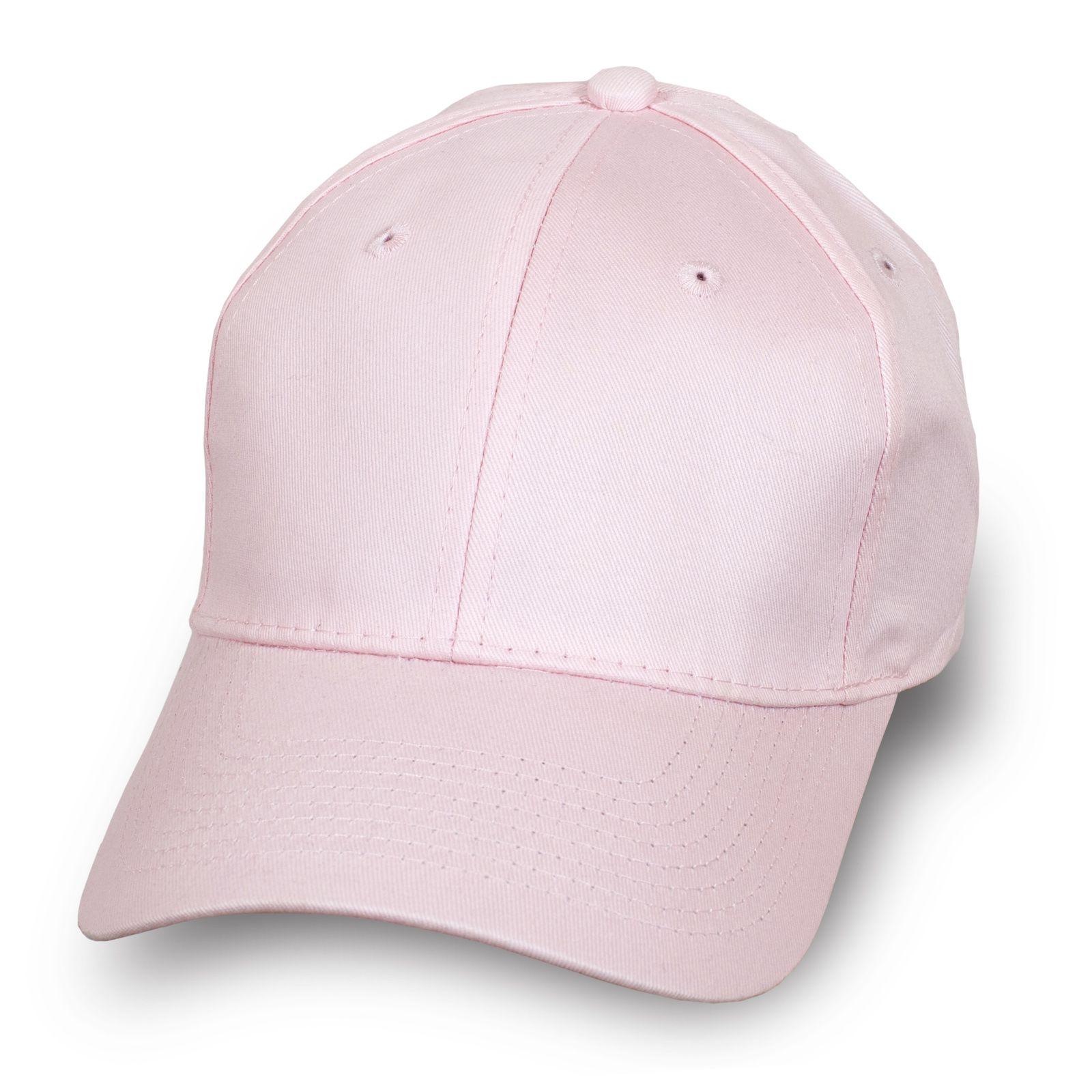 Женская бейсболка светло-розовая