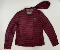 Женская бордовая куртка от CANADIAN