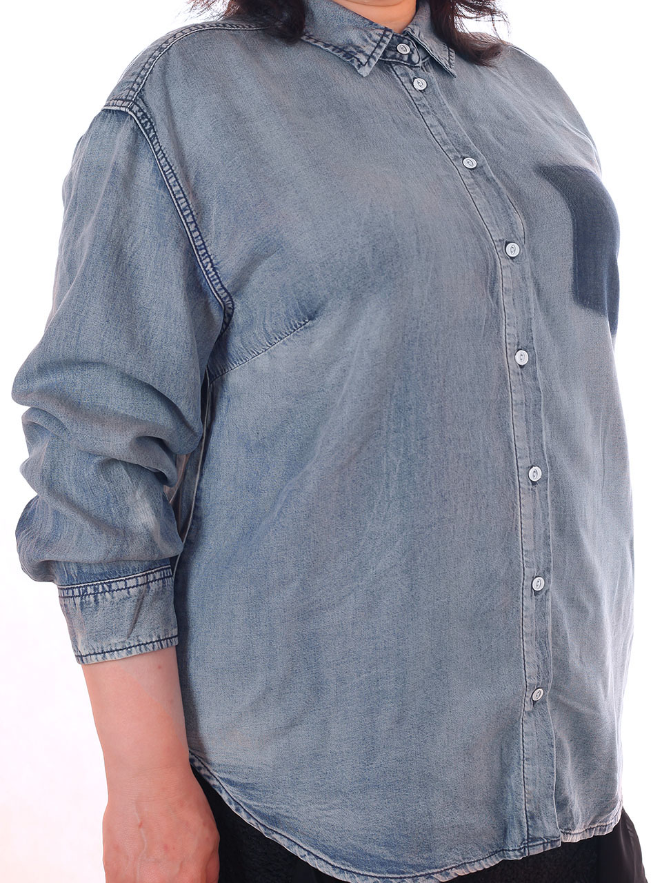 Женские джинсовые рубашки в Новороссийске
