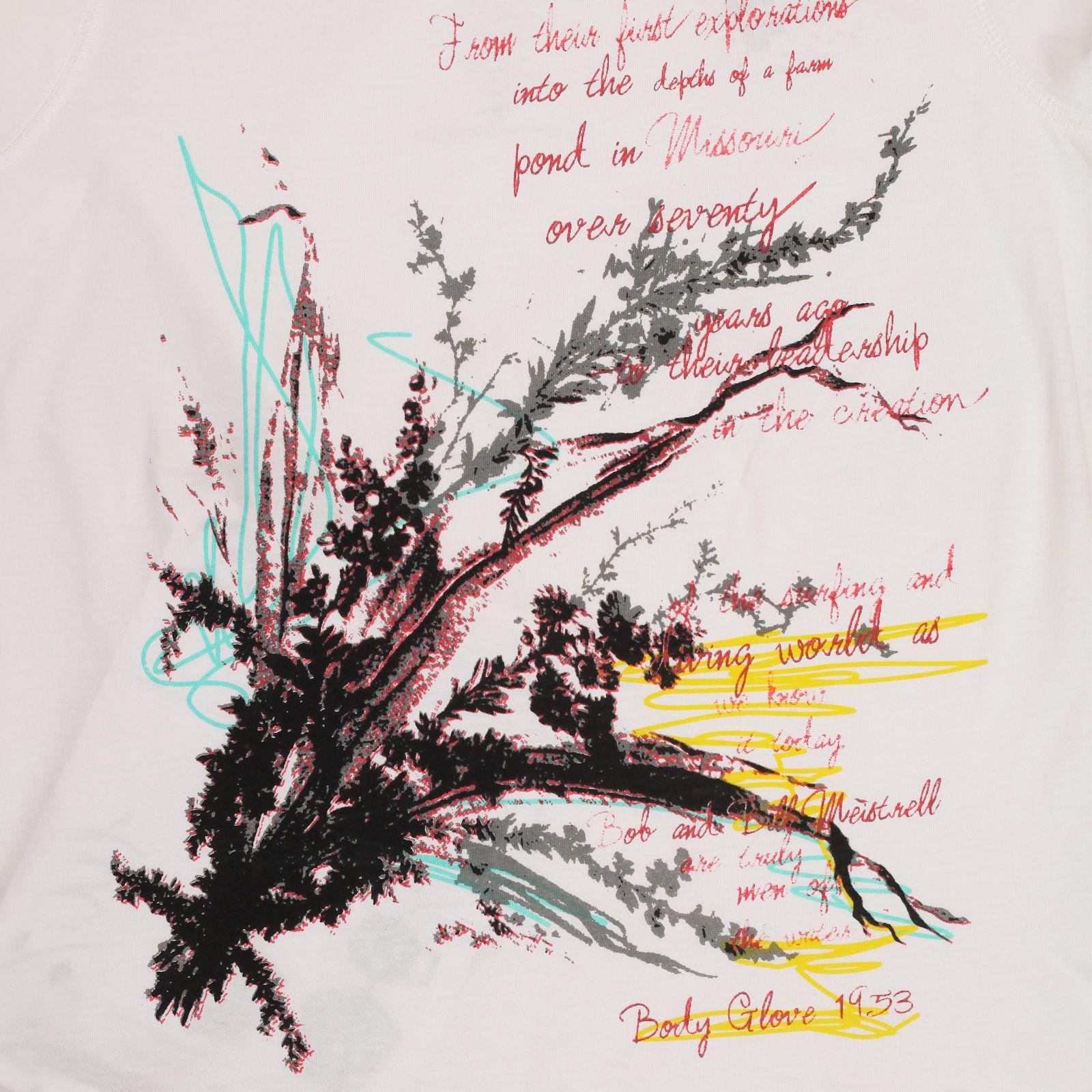 Женская элегантная футболка от Body Glove® - принт