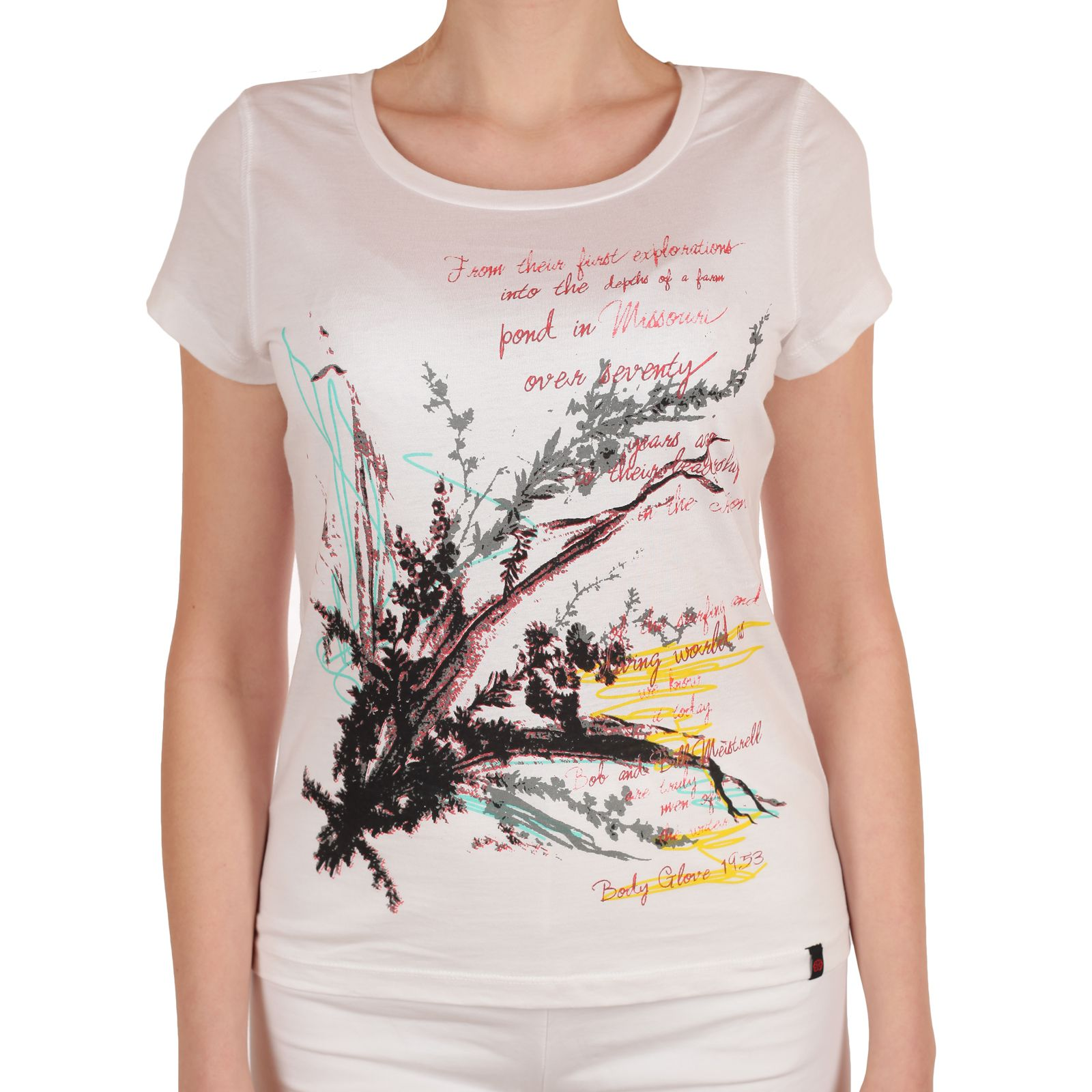 Женская элегантная футболка от Body Glove®