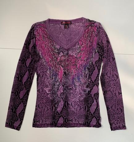 Женская фиолетовая кофточка от ROCK&ROLL COWGIRLS