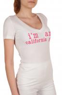 Женская футболка California&CO (США) для спорта и отдыха - вид сбоку