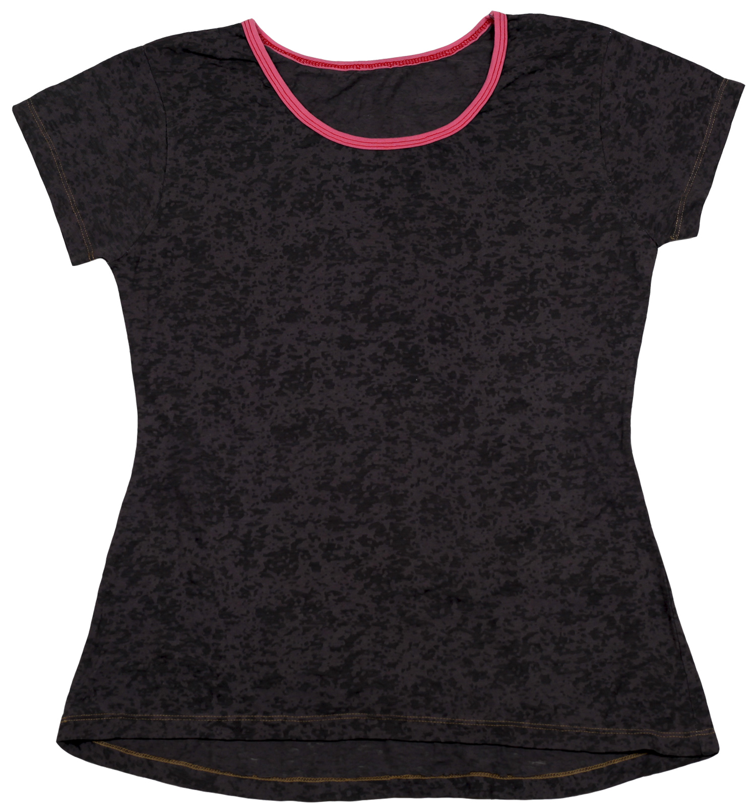 Женская футболка из 100% хлопка. Удобная повседневная модель