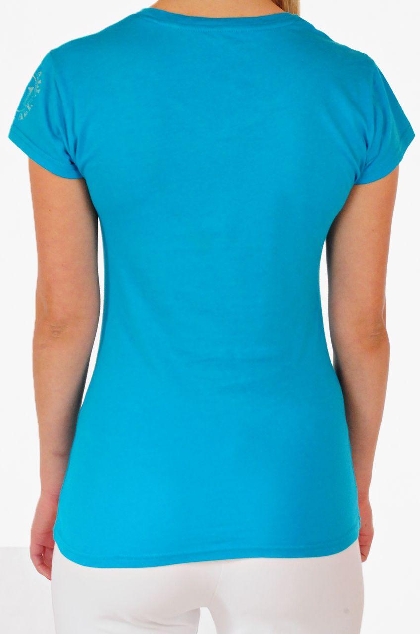 Женская футболка от Hard Rock® для стильных девушек - вид сзади